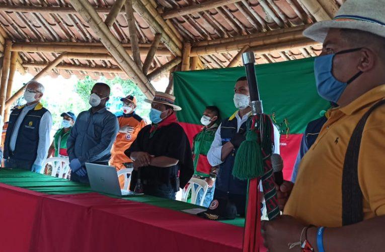 Gobierno Nacional entregó ayudas humanitarias en el Cauca