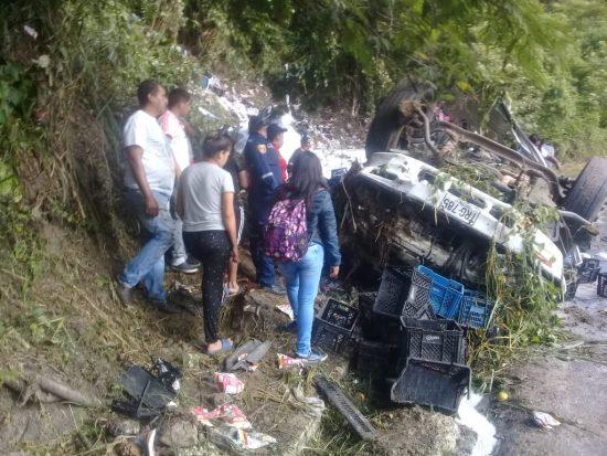 Dos muertos en accidente en la panamericana