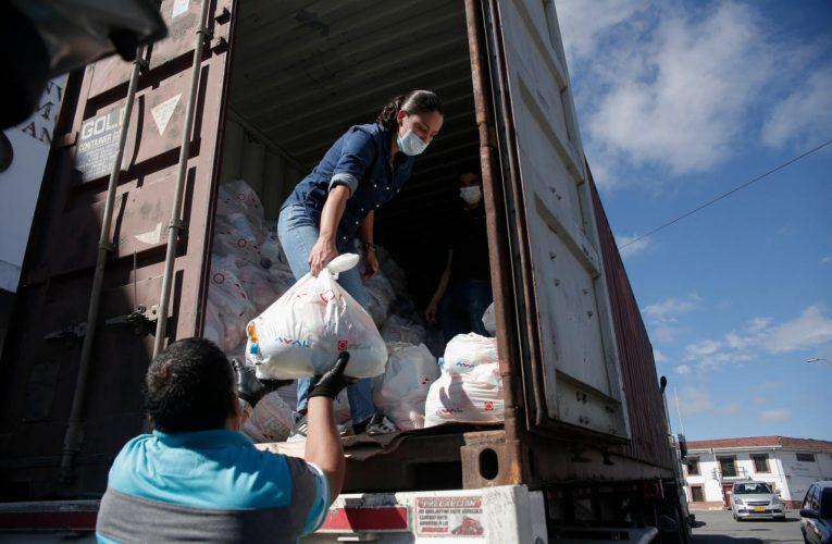 Más ayudas humanitarias para Popayán