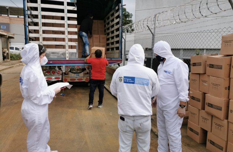 Llegan ayudas alimentarias para familias vulnerables del Cauca