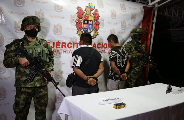 Ejército captura a integrantes del GAO-r Jaime Martínez