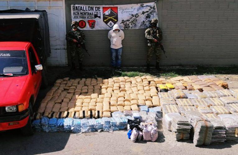 Ejército propina duro golpe a la Dagoberto Ramos en Cauca