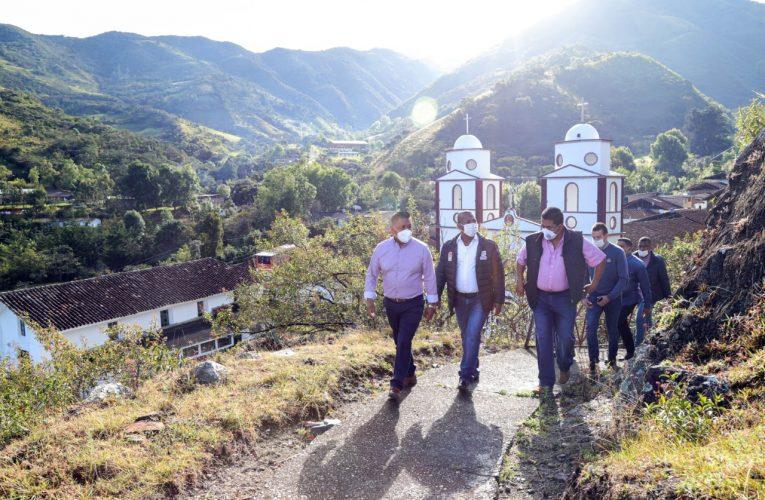 Gobernador sigue recorriendo municipios caucanos