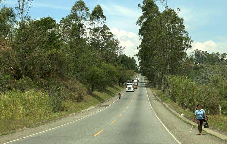 Finaliza mantenimiento de la vía Popayán – Mojarras.