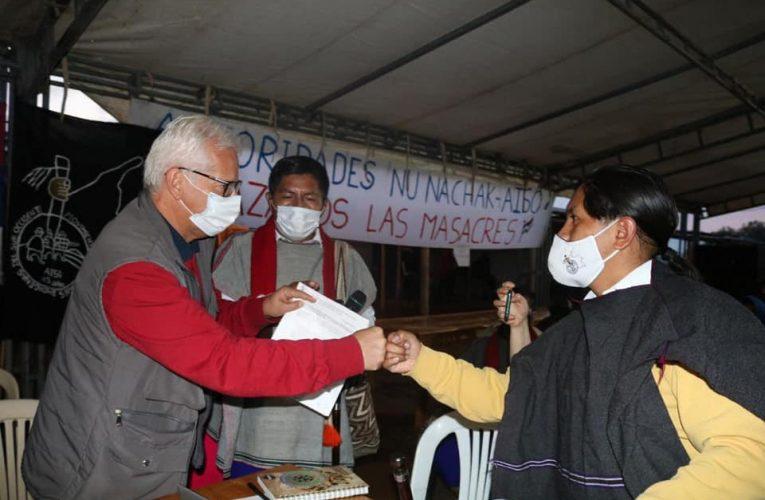 Diálogo con comunidades indígenas en La María