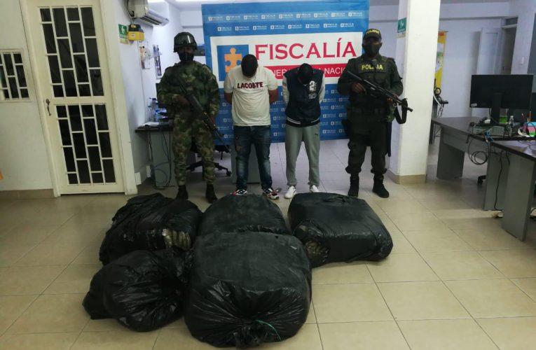 Ejército Nacional incauta 745 kilos de marihuana en el norte del Cauca