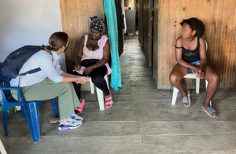 Directora de ICBF visitó familia de niña asesinada en Guapi