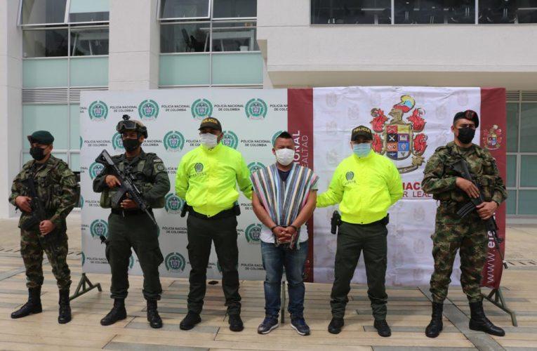 Capturado alias Martín en Suárez Cauca