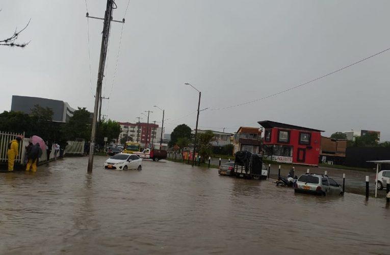 Aguacero ocasionó emergencia en Popayán