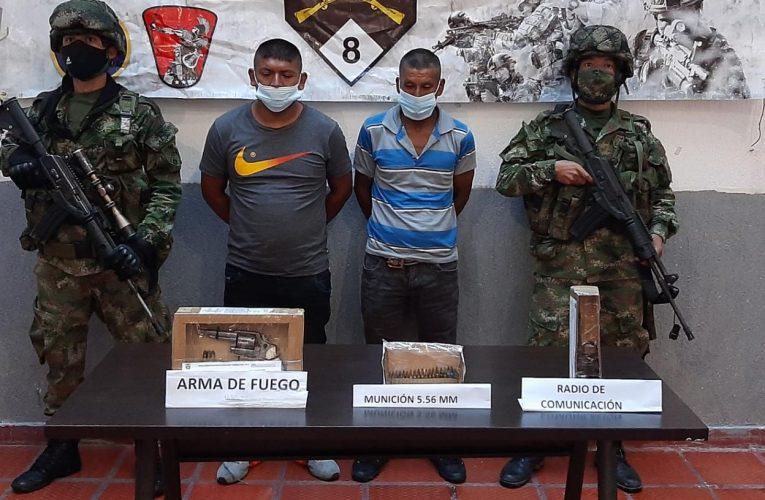 Ejército capturó a integrantes del GAO-r Dagoberto Ramos Ortíz