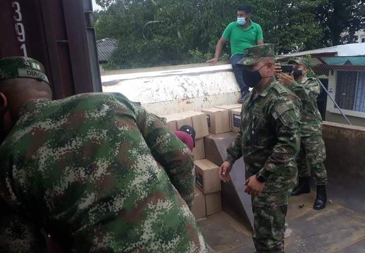 Llegan ayudas para familias del municipio de Inzá, Cauca
