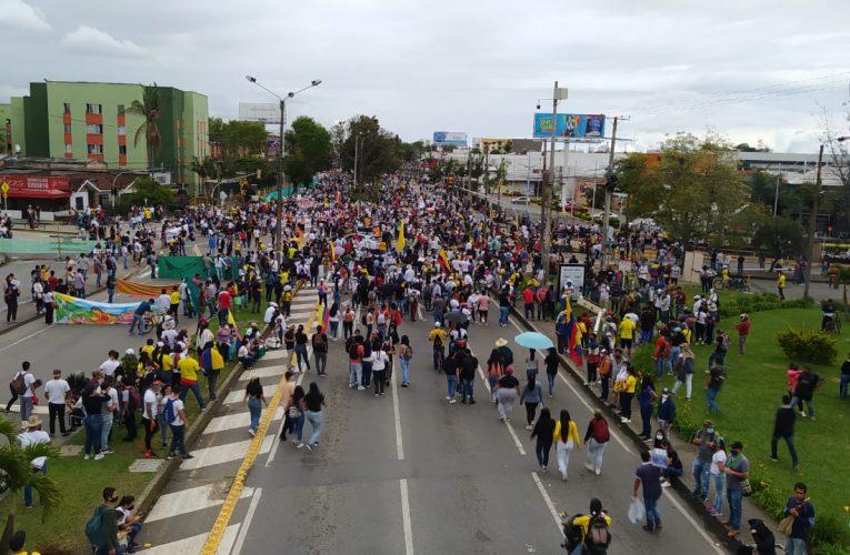 Caucanos participaron masivamente en jornada de paro nacional