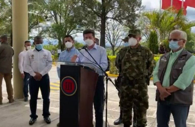 Gobierno adopta medidas para garantizar orden público en Popayán