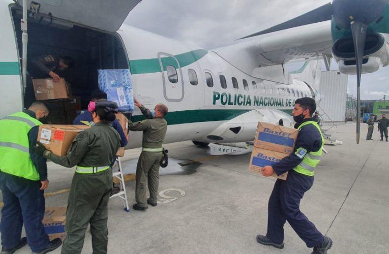 Llegan al Cauca más de tres toneladas de medicamentos e insumos hospitalarios