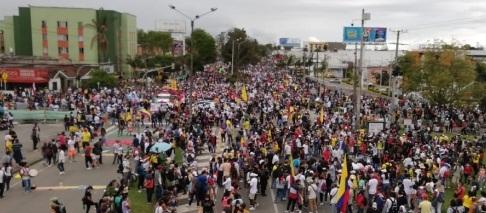 El paro no para, siguen las movilizaciones en Popayán y el Cauca