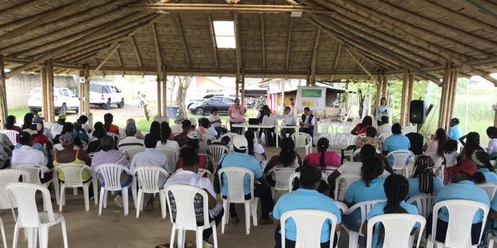 Con bienes farc inician reparación colectiva a comunidades del norte del Cauca
