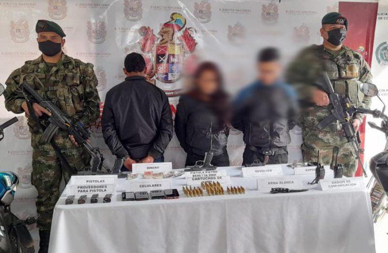 Ejército Nacional desarticuló comisión del GAO-r Carlos Patiño e incautó abundante material de guerra