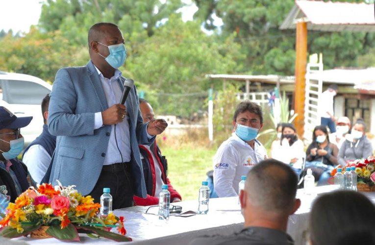 Gobernación avanza en proceso de garantizar seguridad alimentaria
