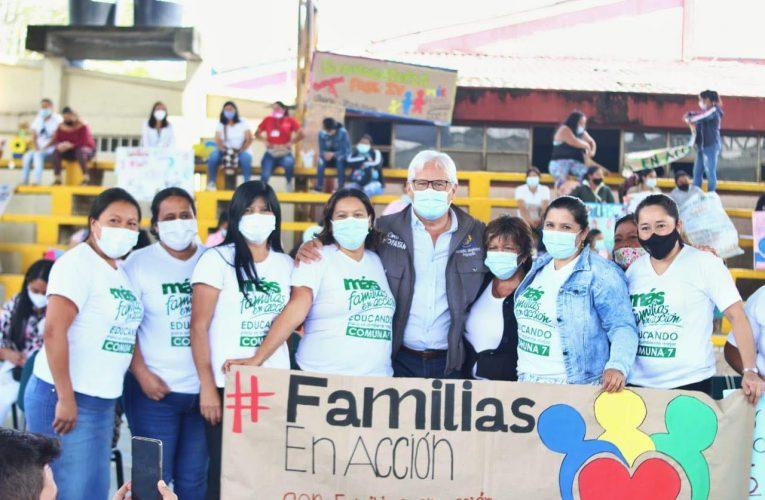 Gobierno Nacional asigna 17 mil cupos para el programa Familias en Acción en Popayán
