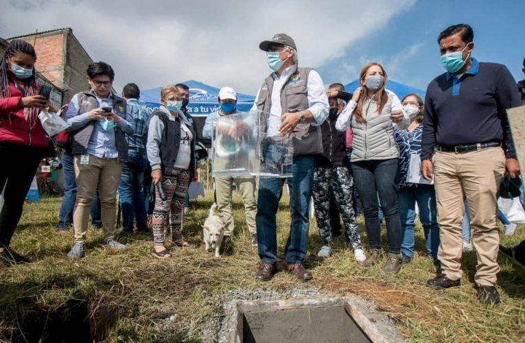 Alcaldía acompaña inicio de Proyecto de Vivienda María Gracia