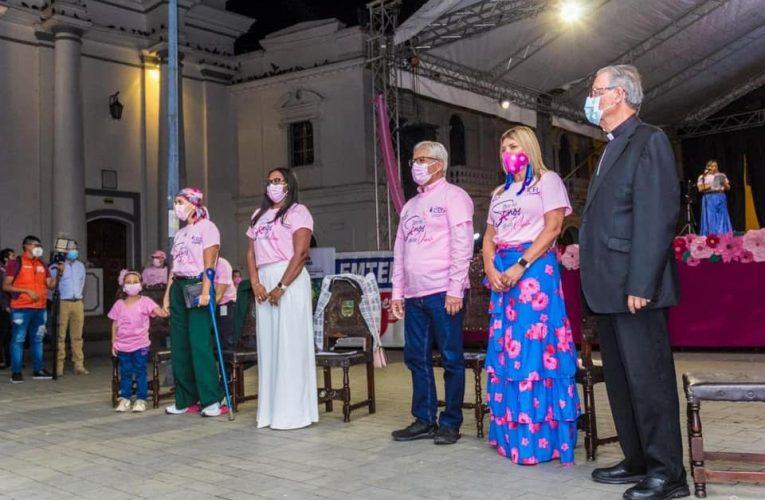 Se hizo lanzamiento del Mes Rosa 2021 bajo el lema: «Que no Senos Olvide Vivir»