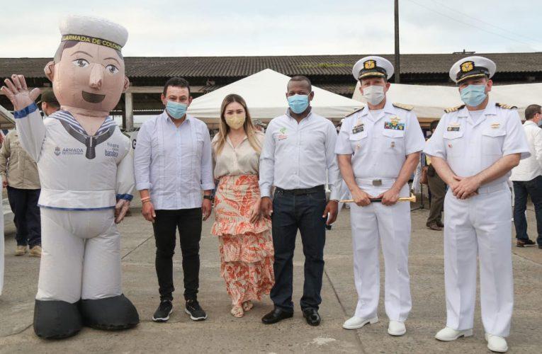 Gobernación del Cauca a bordo de la operación «Navegando al Corazón del Pacífico»